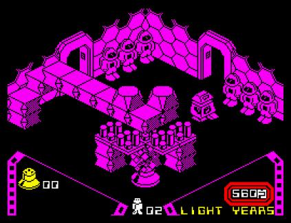 Alien 8 ZX Spectrum 20