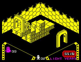 Alien 8 ZX Spectrum 22