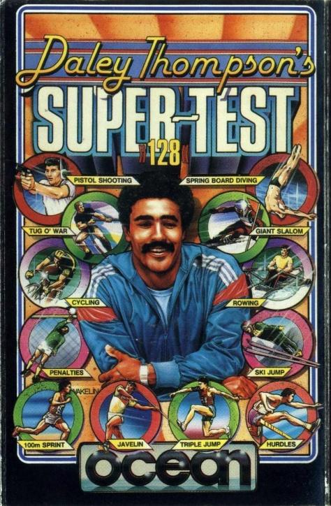 Daley-Thompsons-Super-test-ZX-Spectrum-art-by-Bob-Wakelin