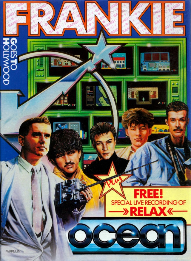 Frankie Goes To Hollywood box art by the late, great Bob Wakelin.