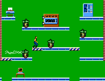 Impossible Mission Sega Master System 08