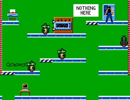 Impossible Mission Sega Master System 09