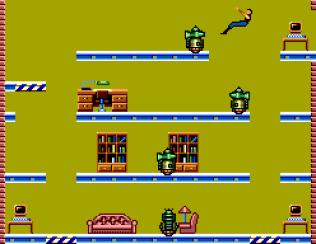 Impossible Mission Sega Master System 10