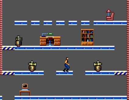 Impossible Mission Sega Master System 12