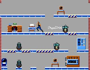 Impossible Mission Sega Master System 32