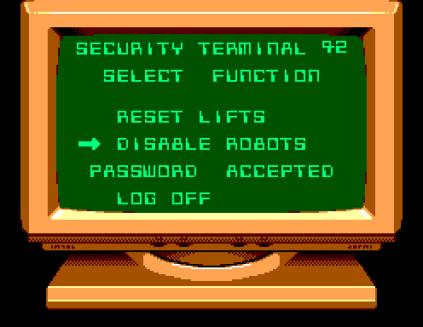 Impossible Mission Sega Master System 34