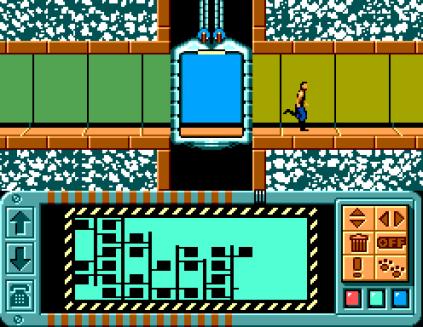 Impossible Mission Sega Master System 42
