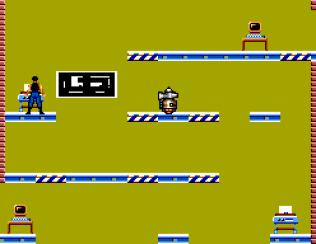 Impossible Mission Sega Master System 43