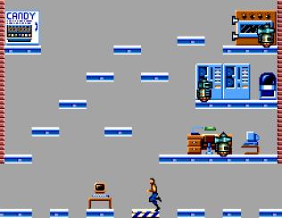 Impossible Mission Sega Master System 44