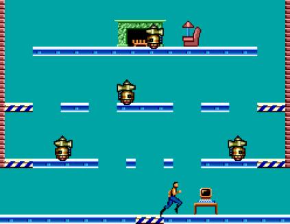 Impossible Mission Sega Master System 45