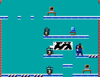 Impossible Mission Sega Master System 53