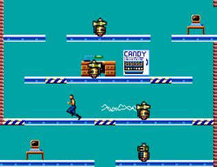 Impossible Mission Sega Master System 54