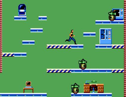 Impossible Mission Sega Master System 56