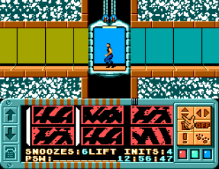 Impossible Mission Sega Master System 60