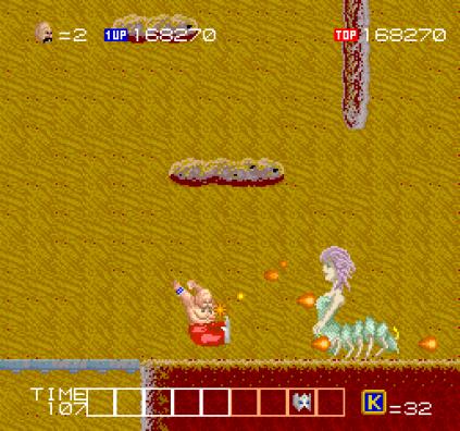 Karnov Arcade 64