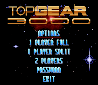 Top Gear 3000 SNES 01