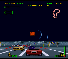 Top Gear 3000 SNES 11
