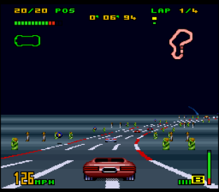 Top Gear 3000 SNES 12