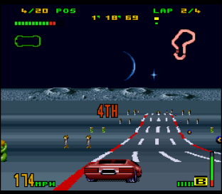 Top Gear 3000 SNES 20