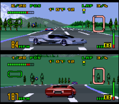 Top Gear 3000 SNES 32