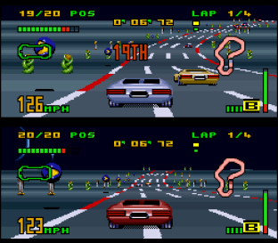 Top Gear 3000 SNES 34