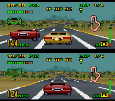 Top Gear 3000 SNES 44