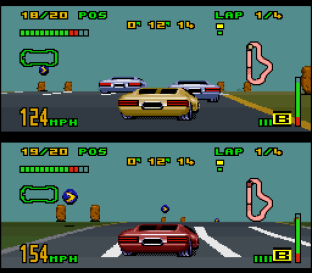 Top Gear 3000 SNES 45