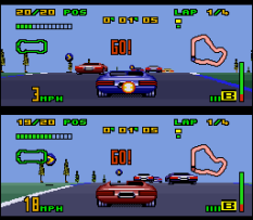 Top Gear 3000 SNES 54