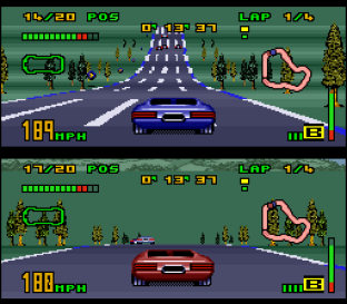 Top Gear 3000 SNES 56