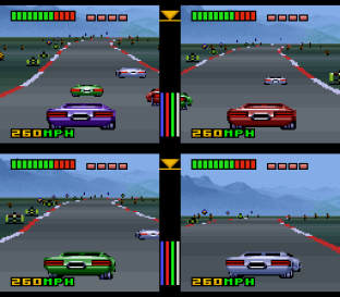 Top Gear 3000 SNES 75