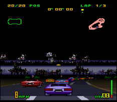 Top Gear 3000 SNES 76