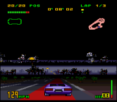 Top Gear 3000 SNES 77