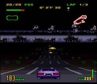 Top Gear 3000 SNES 78