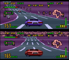 Top Gear 3000 SNES 88