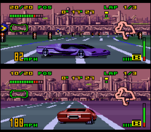 Top Gear 3000 SNES 89