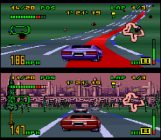 Top Gear 3000 SNES 95