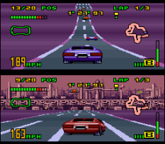 Top Gear 3000 SNES 96