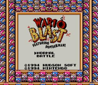 Wario Blast Game Boy 086