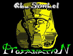 Abu Simbel Profanation ZX Spectrum 01