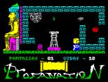 Abu Simbel Profanation ZX Spectrum 02