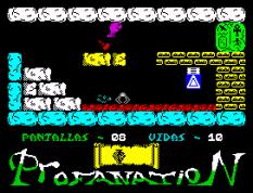 Abu Simbel Profanation ZX Spectrum 10