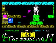 Abu Simbel Profanation ZX Spectrum 11