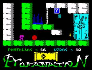 Abu Simbel Profanation ZX Spectrum 20