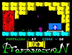 Abu Simbel Profanation ZX Spectrum 21