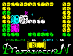 Abu Simbel Profanation ZX Spectrum 26