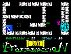 Abu Simbel Profanation ZX Spectrum 27