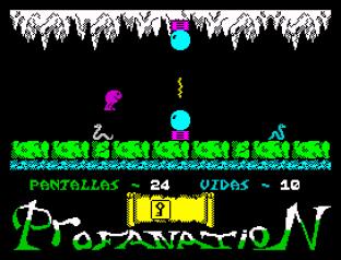 Abu Simbel Profanation ZX Spectrum 33