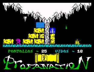 Abu Simbel Profanation ZX Spectrum 34