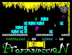 Abu Simbel Profanation ZX Spectrum 37