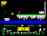 Abu Simbel Profanation ZX Spectrum 41